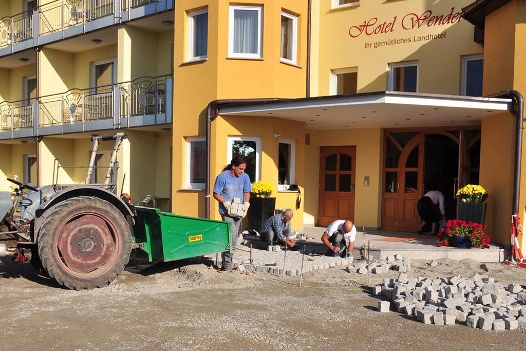 Pflaster Fürs Hotel