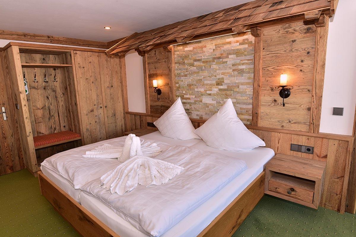 Stadel Zimmer: Doppelzimmer | Hotel Wender