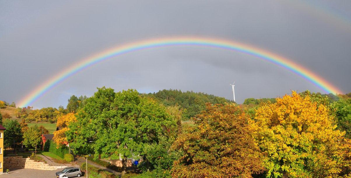 Herbstregenbogen