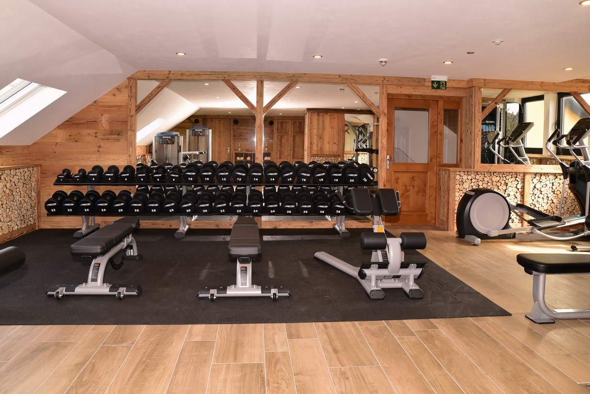 Fitness-Studio Fürs Hotel
